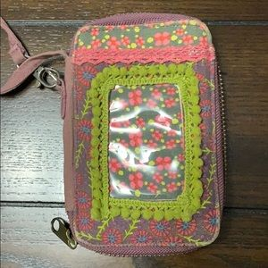 Bags - Nature life wristlit phone and wallet